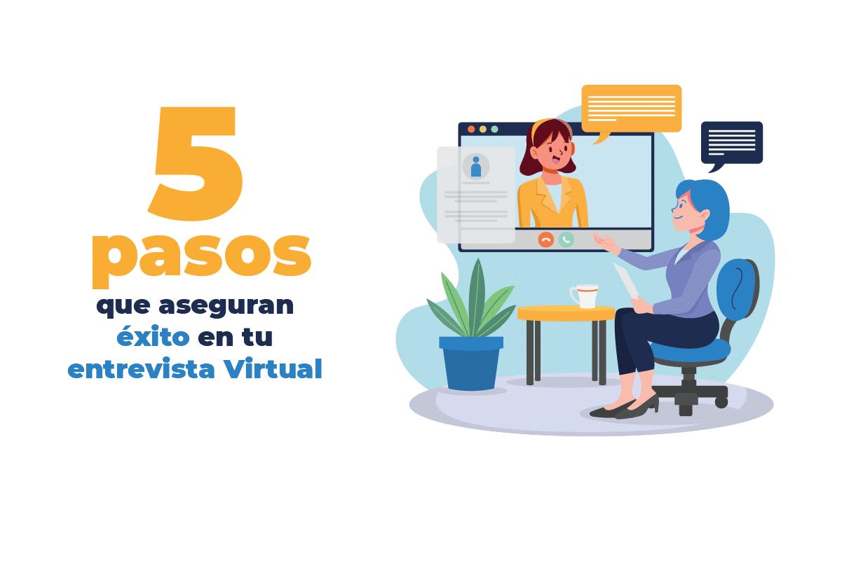 5 pasos entrevista virtual